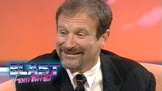 Robin Williams Interview Mrs Doubtfire & Aladdin Voices To Family Life | Blast From The Past