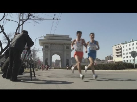 North Korean Marathon - Pyongyang Marathon Takes Place Despite International Tension