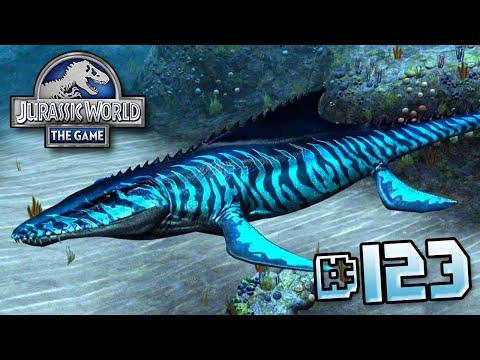 Maxed Mosasaurus!! || Jurassic World - The Game - Ep 123 HD