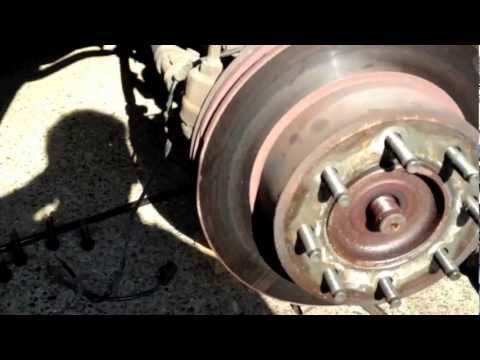2003 Dodge Ram 2500 front wheel bearing removal
