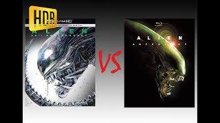 ▶ Comparison of Alien 4K HDR10 (4K DI) vs Alien Anthology Edition