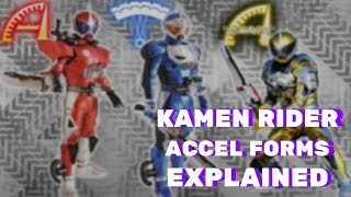 Kamen Rider W: Accel Forms EXPLAINED