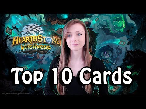 [Hearthstone] WITCHWOOD Top 10 Meta Cards