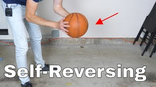 The Reverse Spinning Basketball Problem