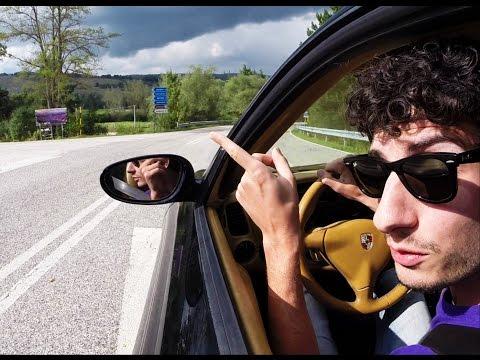 Porsche 911 on board (Istruzioni raduno 2014) - Inserito da Davide Cironi il 17 settembre 2014 durata 19 minuti e 59 secondi - Vi facciamo vedere passo passo il tragitto per arrivare al raduno del 21 settembre 2014, la strada che percorreremo insieme con tutte le auto e il posto dove ci fermeremo per ora di pranzo. Su Facebook per altre informazioni e domande.