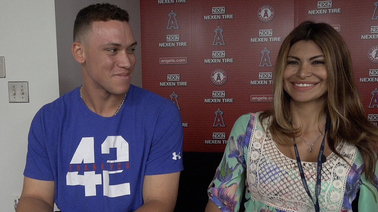 Claudia Gestro Talks With Aaron Judge Youtube