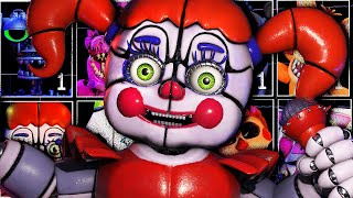 ULTRA CUSTOM NIGHT É UMA LOUCURA + DE 440 ANIMATRONICS