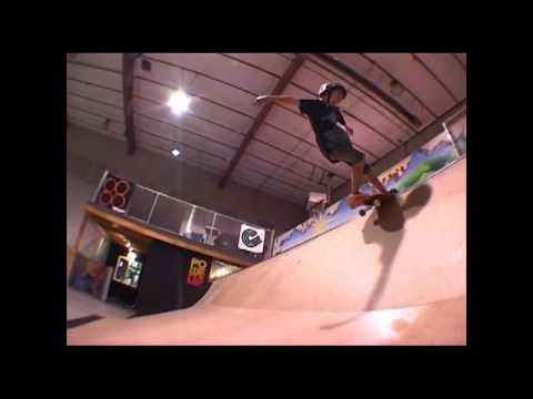 8 year old skateboarder James Stewart
