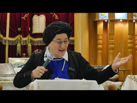 כבוד תלמדי חכמים - הרבנית רחל פרץ HD