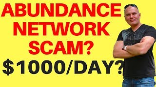 Abundance Network Review $6400 PROOF🤩😚😎 Do NOT Join Until You See This | Legit Or Scam?