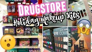 Drugstore HOLIDAY MAKEUP KITS 2018 + HAUL