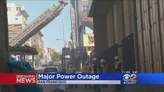 Massive Power Outage Hits San Francisco