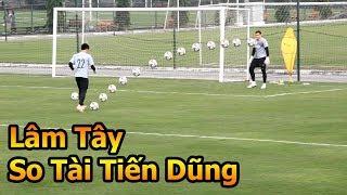 Thủ Thách Bóng Đá đi xem thủ môn Bùi Tiến Dũng VS Đặng Văn Lâm penalty ĐT Việt Nam Asian Cup 2019