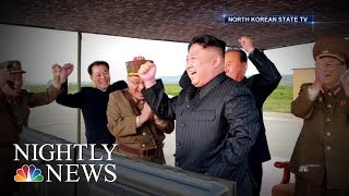 Download North Korean Leader Kim Jong Un Vows To Complete Nuclear Weapons Program | NBC Nightly News 3Gp Mp4