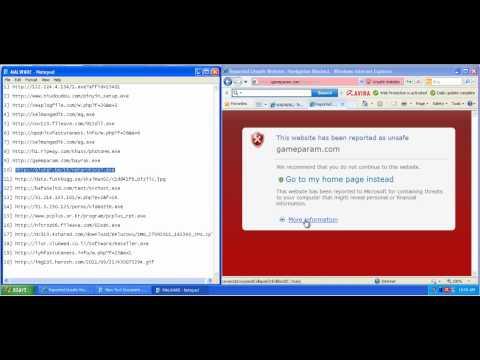 Avira Free Antivirus 2012 Detection and Prevention Test