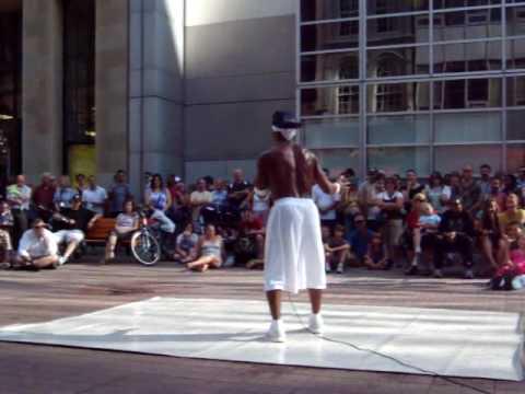 LA Bronx Break dancing, hip hop, the moonwalk at the International Buskers Festival 2009 in Ottawa