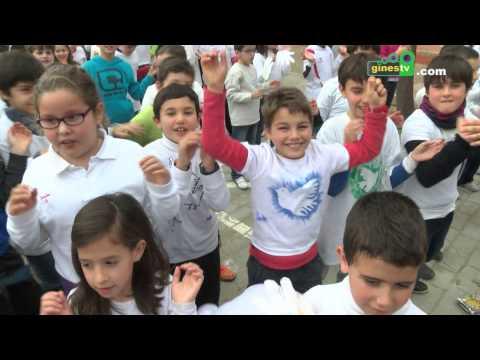Día de la Paz en el colegio Nuestra Señora de Belén de Gines