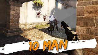 How to play a 10 Man w/Friends! (CSGO Private Match)