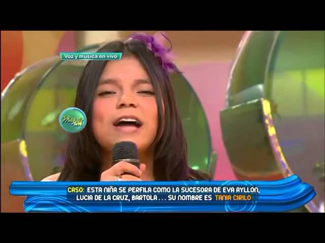 Tania Cirilo - Contigo Peru  [En vivo]