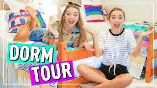 Our DORM ROOM Tour! | Back to School 2018 at College