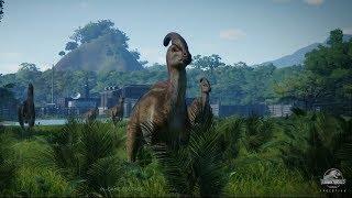 Jurassic World Evolution Trailer 2 In-Game