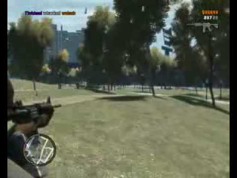Grand Theft Auto 4 PC Multiplayer Gameplay 4