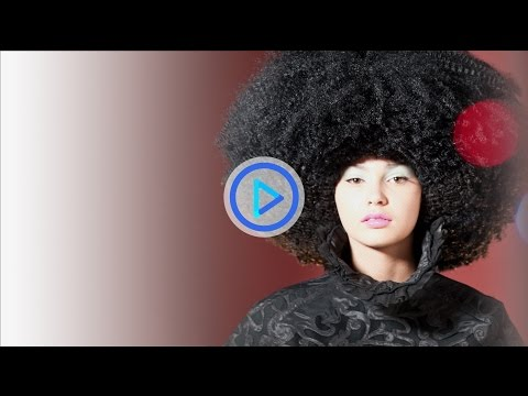How to style hair -- Editorial Catwalk Fashion Hair