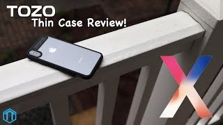 iPhone X Tozo Thin Case Review!