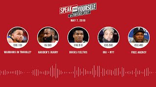 SPEAK FOR YOURSELF Audio Podcast (5.7.19) with Marcellus Wiley, Jason Whitlock | SPEAK FOR YOURSELF