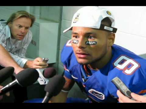 Florida WR Louis Murphy Post-Game vs. Alabama Video