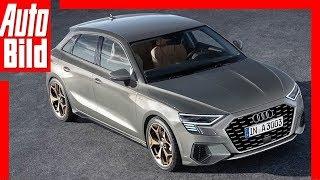 Zukunftsaussicht: Audi A3 Sportback (2019) Details / Erklärung