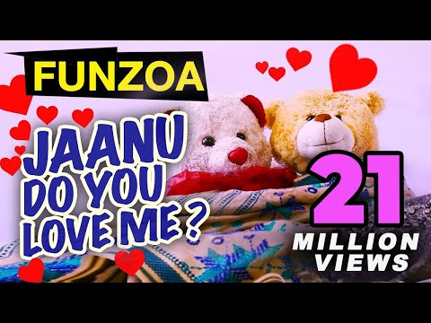 JANU DO YOU LOVE ME (FEMALE VERSION) Funny Hindi Love Song By Funzoa | Valentine Special Song