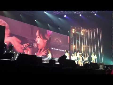 [Fancam] 120212 Girls' Generation Tour in Bangkok – Ending