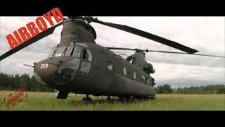 CH-47 Chinook Helicopter Flight