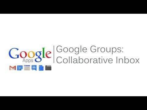 Google Groups Collaborative Inbox