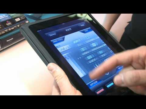 Which? - Panasonic iPhone iPad DLNA apps - Gadget Show 2011