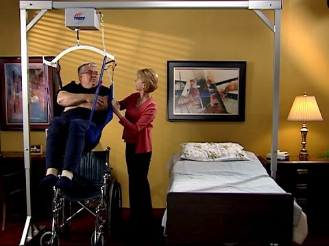 Traxx Mobility System Titan 500 Patient Lift Intro