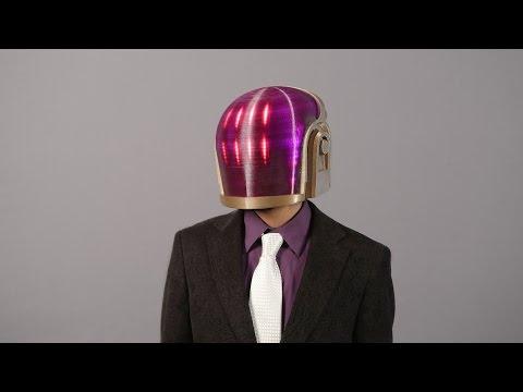 #3DPrinted Daft Punk Helmet