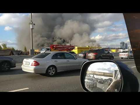 Пожар на рынке Синдика.