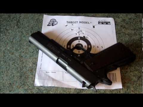 Cybergun Tanfoglio Witness 1911 field test review