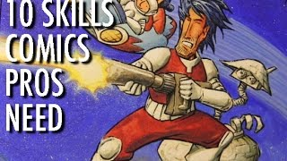 Top 10 Skills that Comics Pros Need