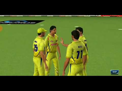 (CSK vs PUNJAB) Real Cricket 18 IPL Match Highlights
