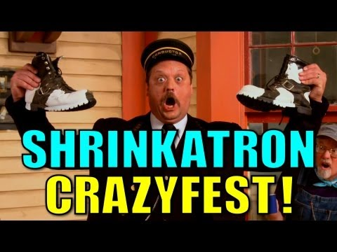 Shrinkatron Crazyfest! - Choo Choo Bob Show