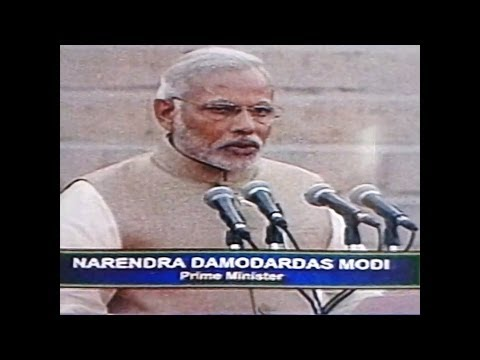 || Narendra D Modi swearing ceremony || original full video