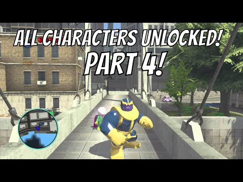 LEGO Marvel Superheroes - A Look at Every Character With Commentary (Part 4/4)