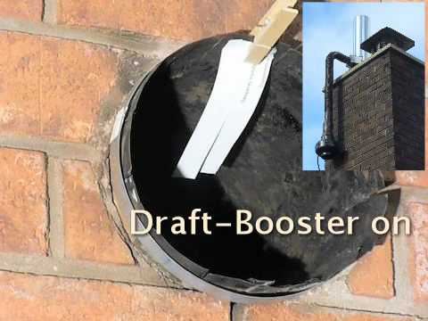 Draft Booster For Woodstoves Youtube
