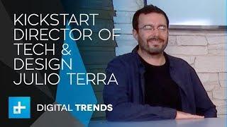 Julio Terra Director of Technology & Design at Kickstarter - Live Interview at CES 2018