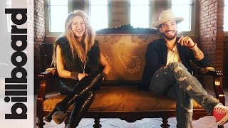 Download Lagu Shakira & Maluma Discuss Bringing Kids On Tour, Soccer & More! | Billboard Gratis STAFABAND