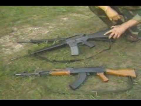 Assault Rifles - G3, M16, AK47