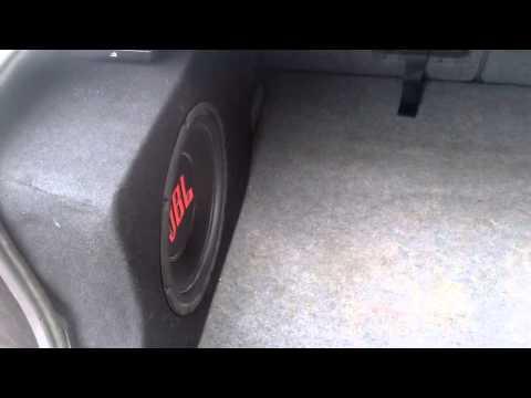 BMW e46 subwoofer